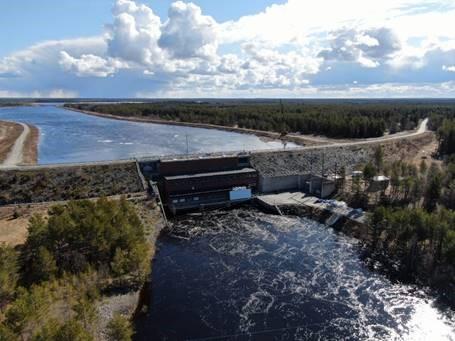 Raasakka Hydropower Plant