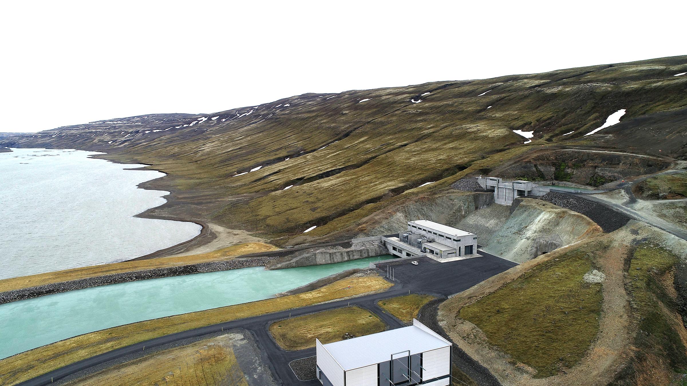 Budarhals plant in Iceland