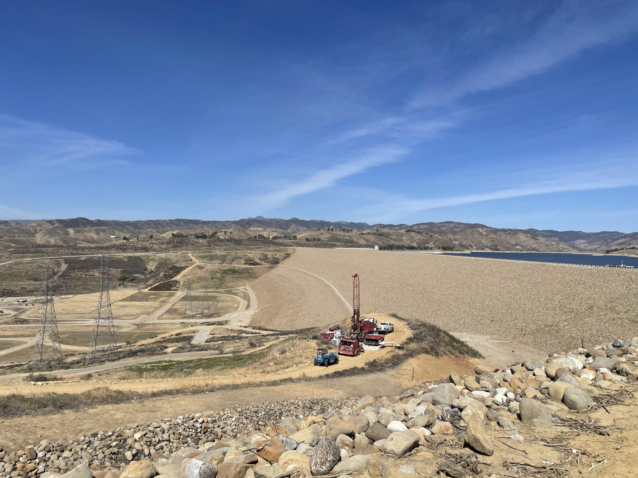 Castaic Dam modernization