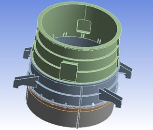 Draft tube model